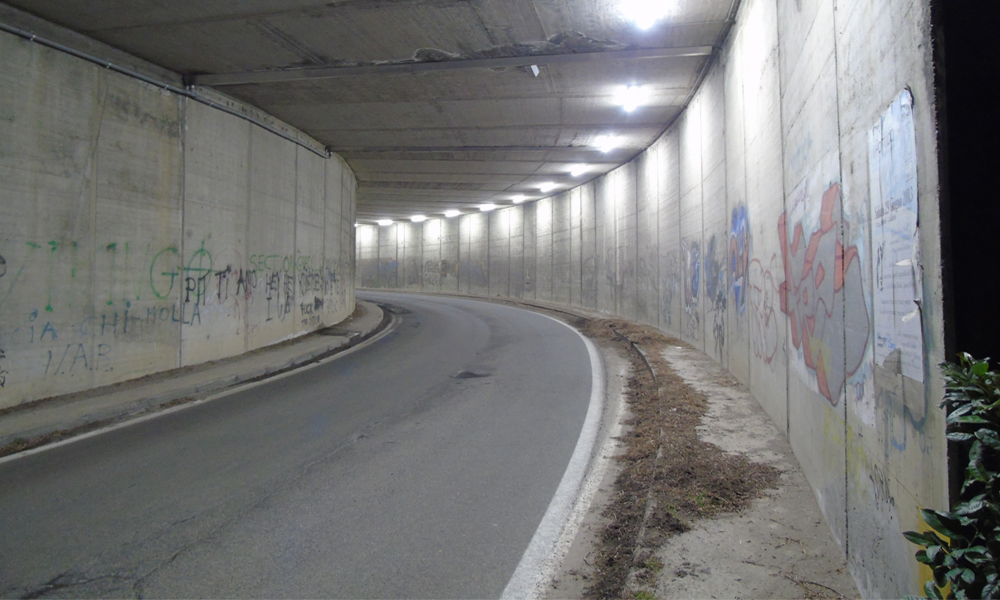 sottopasso A26