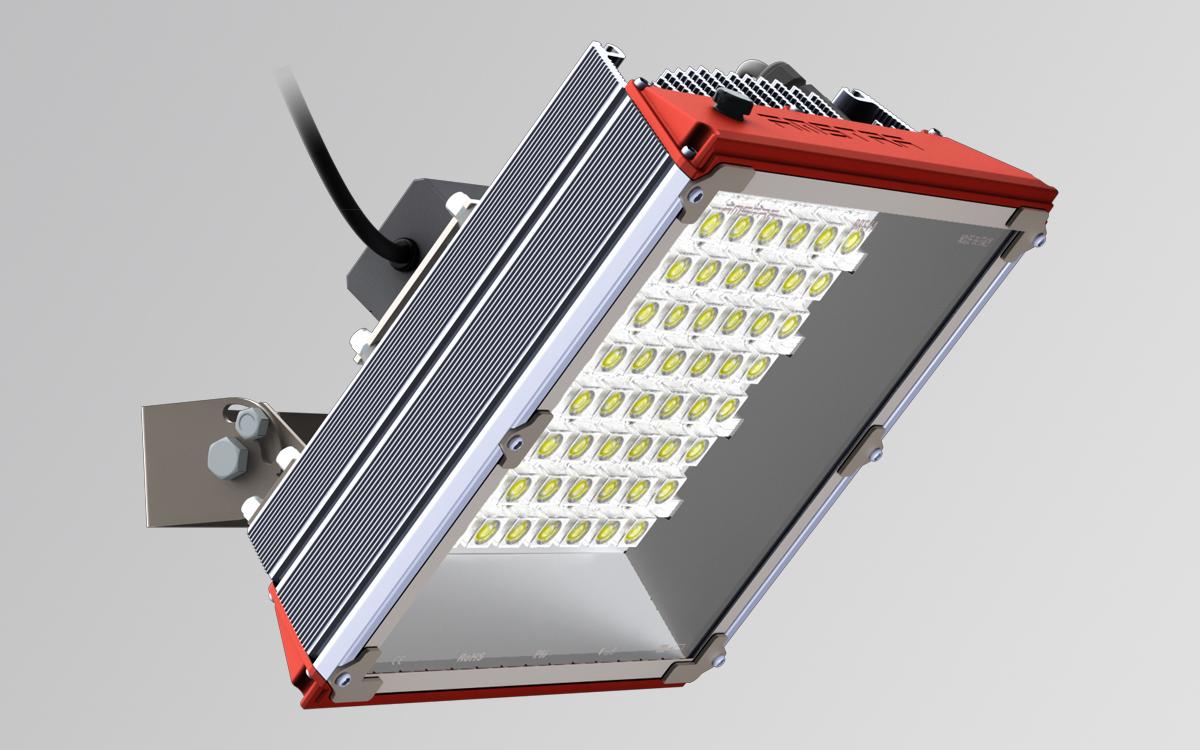 Breva Sport 4M - lampada led per campi da basket