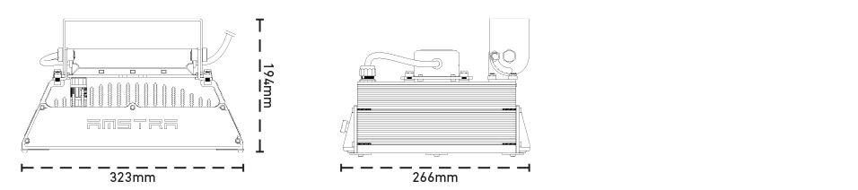 Diagramma polare ottica 120°