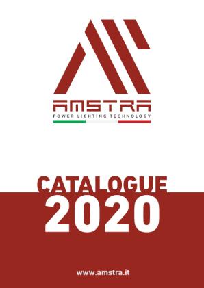 Copertina catalogo Amstra 2020 ENG